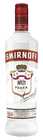 Smirnoff No. 21 Red Label, 750mL