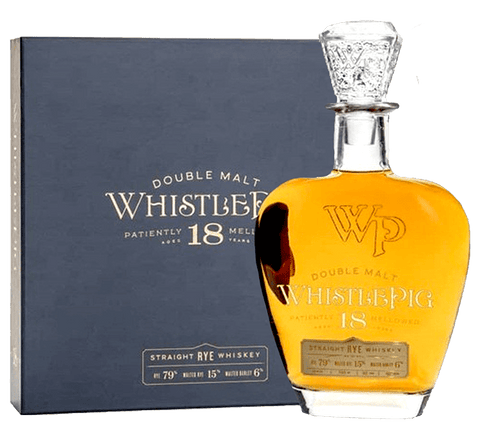 WhistlePig 18-Year Double Malt Rye, 750mL