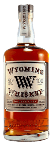 Wyoming Whiskey Double Cask Bourbon, 750mL
