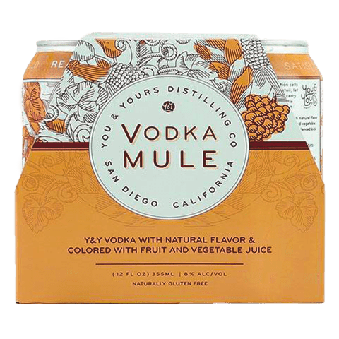 You & Yours Vodka Mule, 4-pack (12oz.)