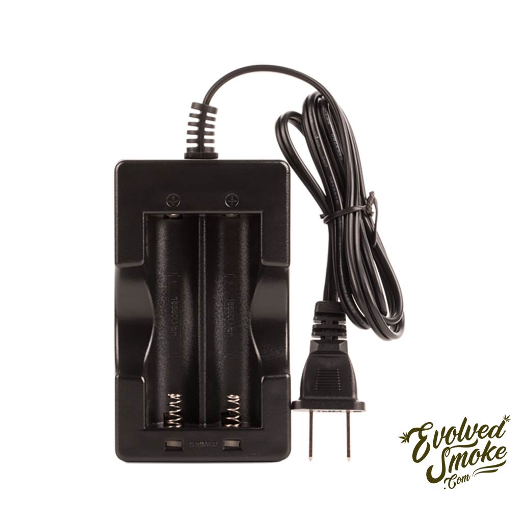 Air Dual Battery Charger  | EvolvedSmoke.com | Shop Vaporizers, Bongs, Glassware & Accessories