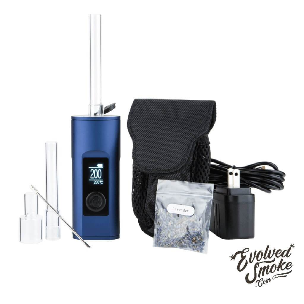 Arizer Solo 2-Vaporizer-Blue Accessories | EvolvedSmoke.com | Shop Vaporizers, Bongs, Glassware & Accessories