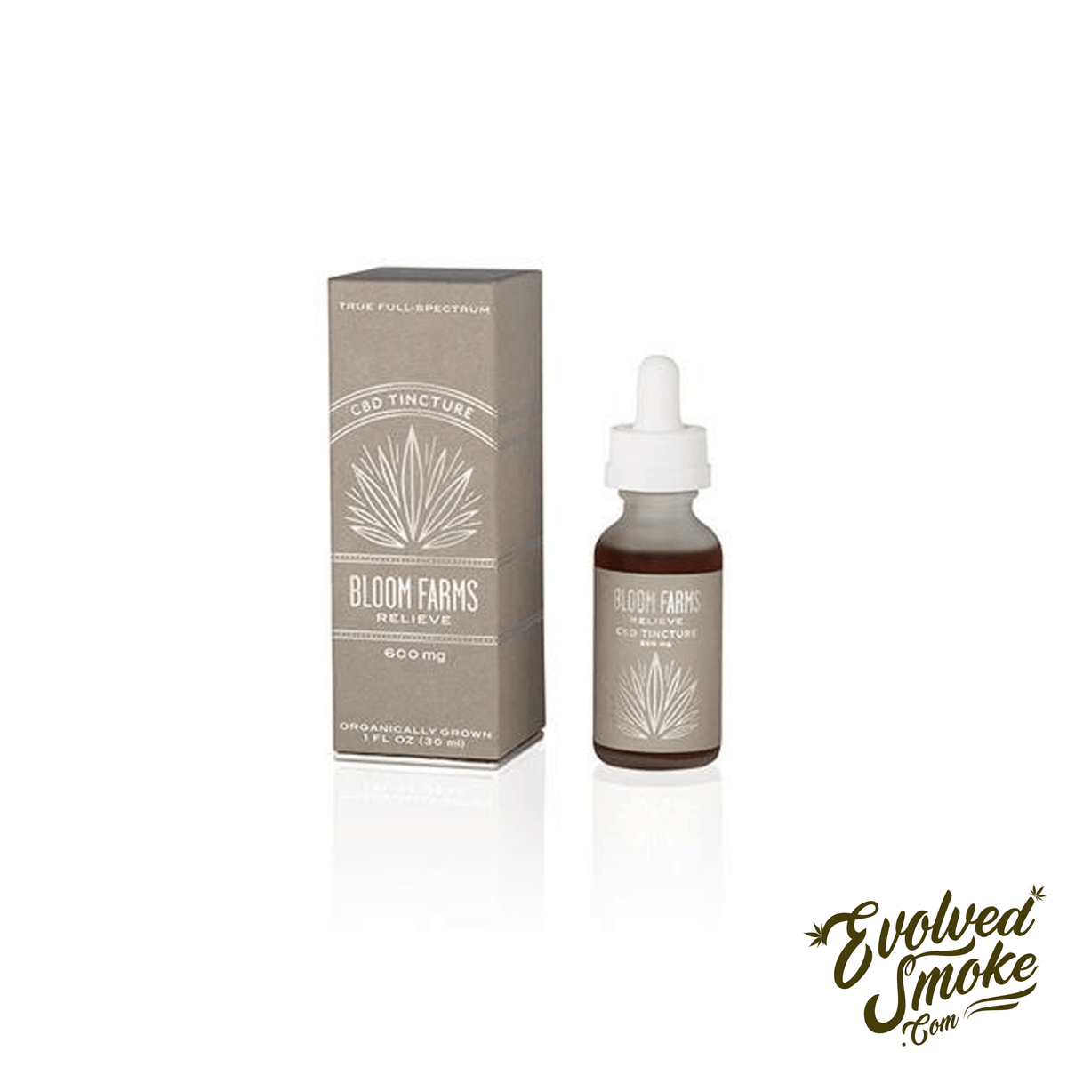 BLOOM FARMS Full Spectrum CBD Tincture - EvolvedSmoke