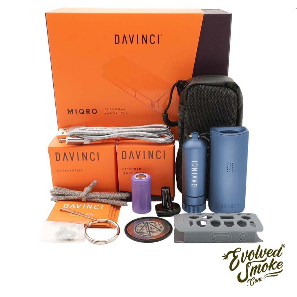 DaVinci MIQRO Vaporizer - Explorers Collection - EvolvedSmoke