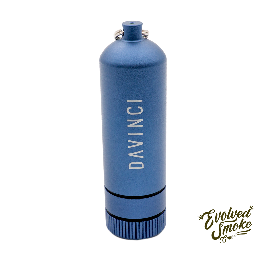 Davinci Miqro Carry Can - Blue  | EvolvedSmoke.com | Shop Vaporizers, Bongs, Glassware & Accessories