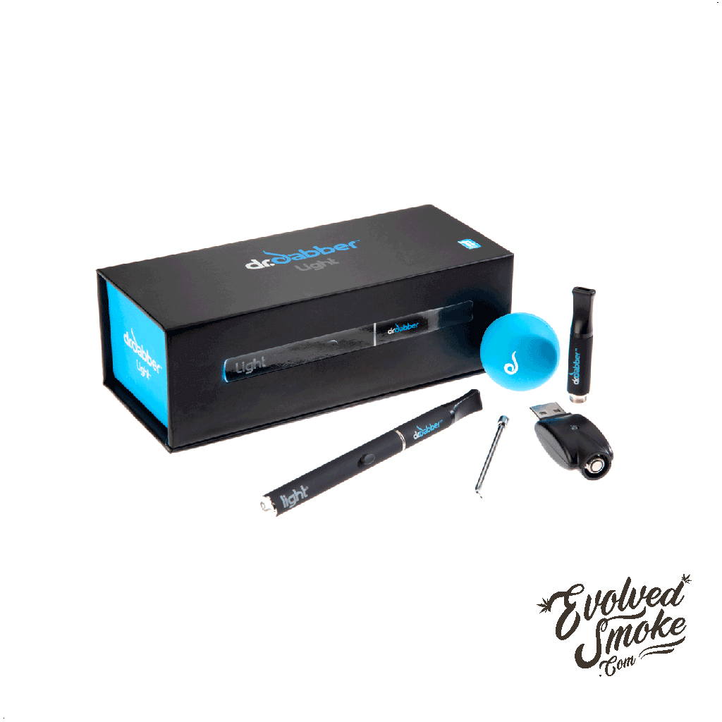 Dr Dabber Light Black | EvolvedSmoke.com | Shop Vaporizers, Bongs, Glassware & Accessories