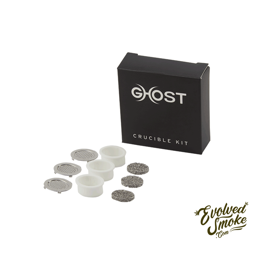 Ghost Vapes MV1 Crucible Kit - Parts - EvolvedSmoke