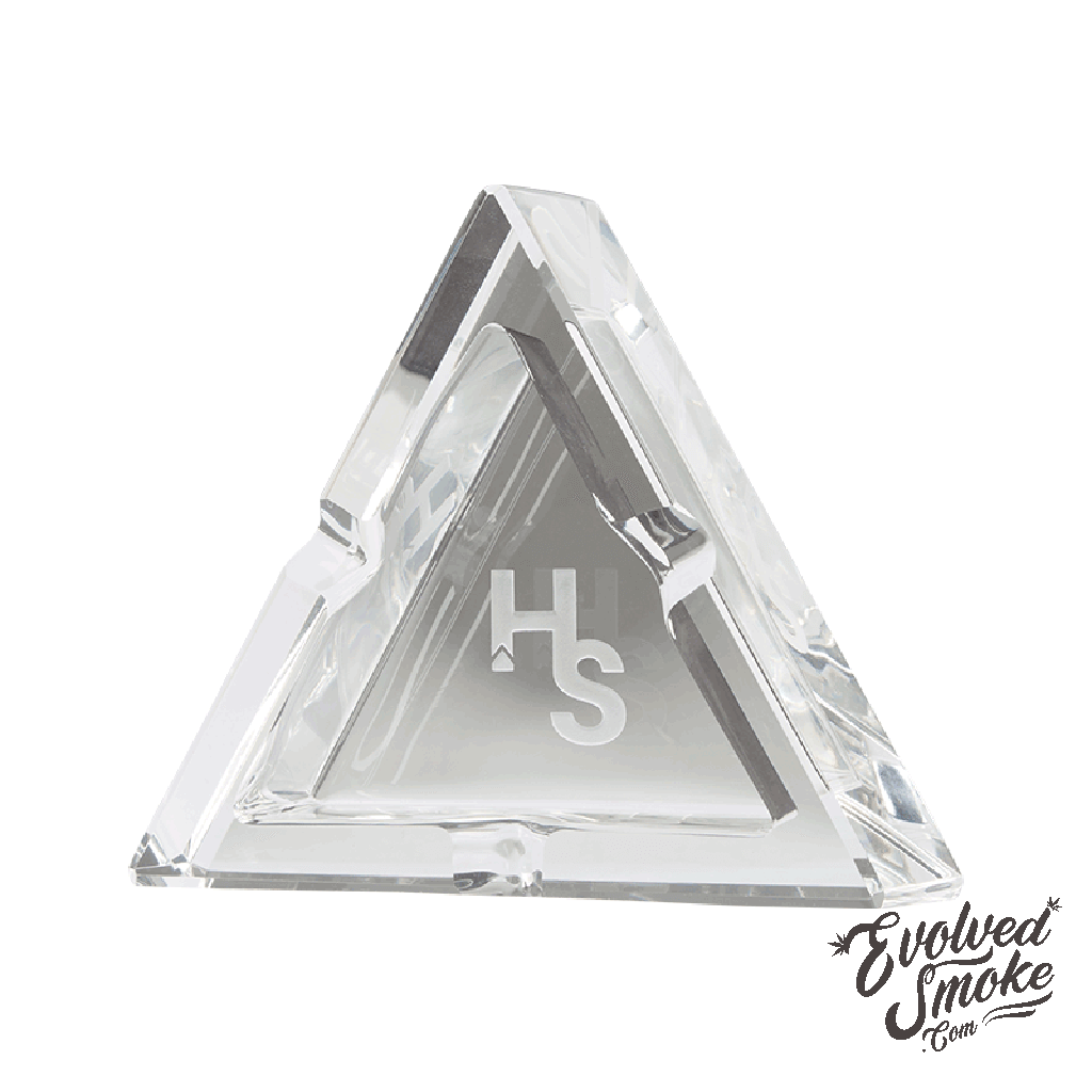 Higher Standards Crystal Ashtray  | EvolvedSmoke.com | Shop Vaporizers, Bongs, Glassware & Accessories