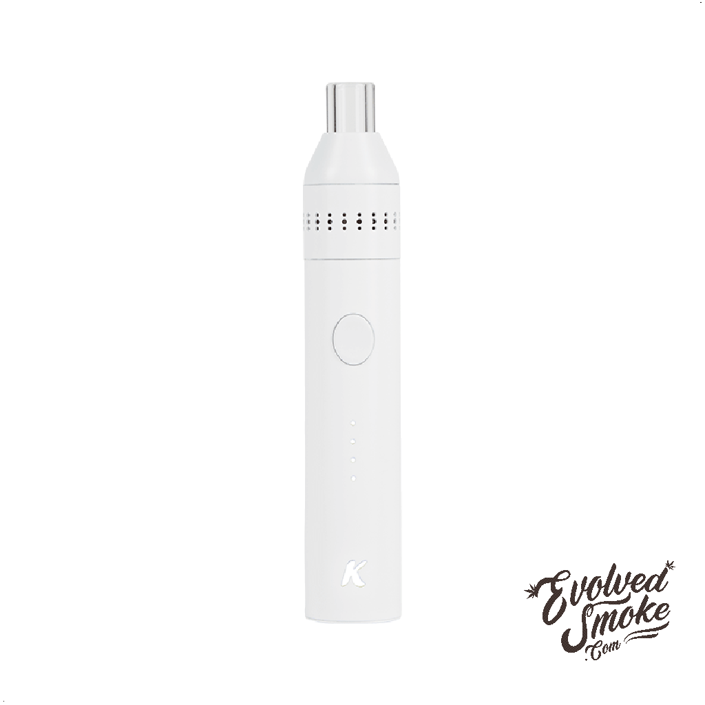 KandyPens Crystal-Vaporizer-White | EvolvedSmoke.com | Shop Vaporizers, Bongs, Glassware & Accessories