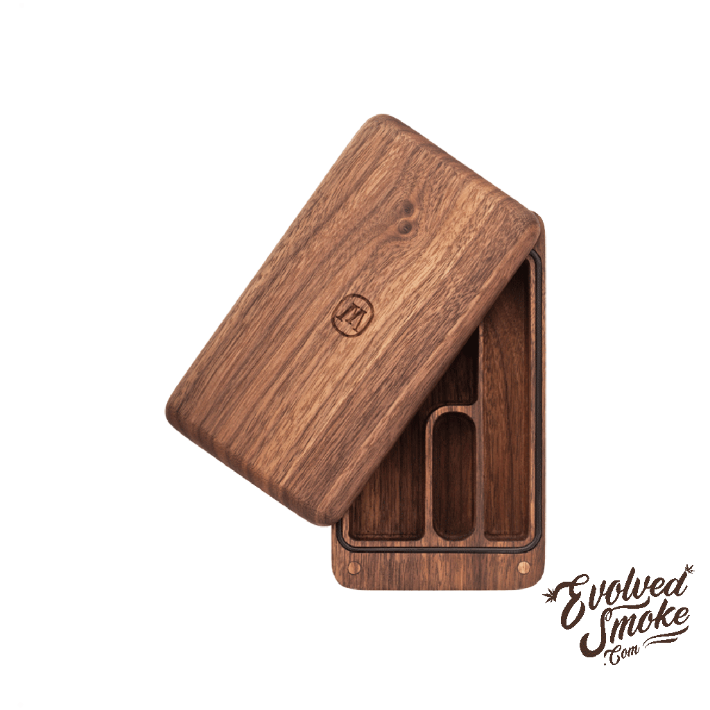 Marley Natural Black Walnut Case  | EvolvedSmoke.com | Shop Vaporizers, Bongs, Glassware & Accessories