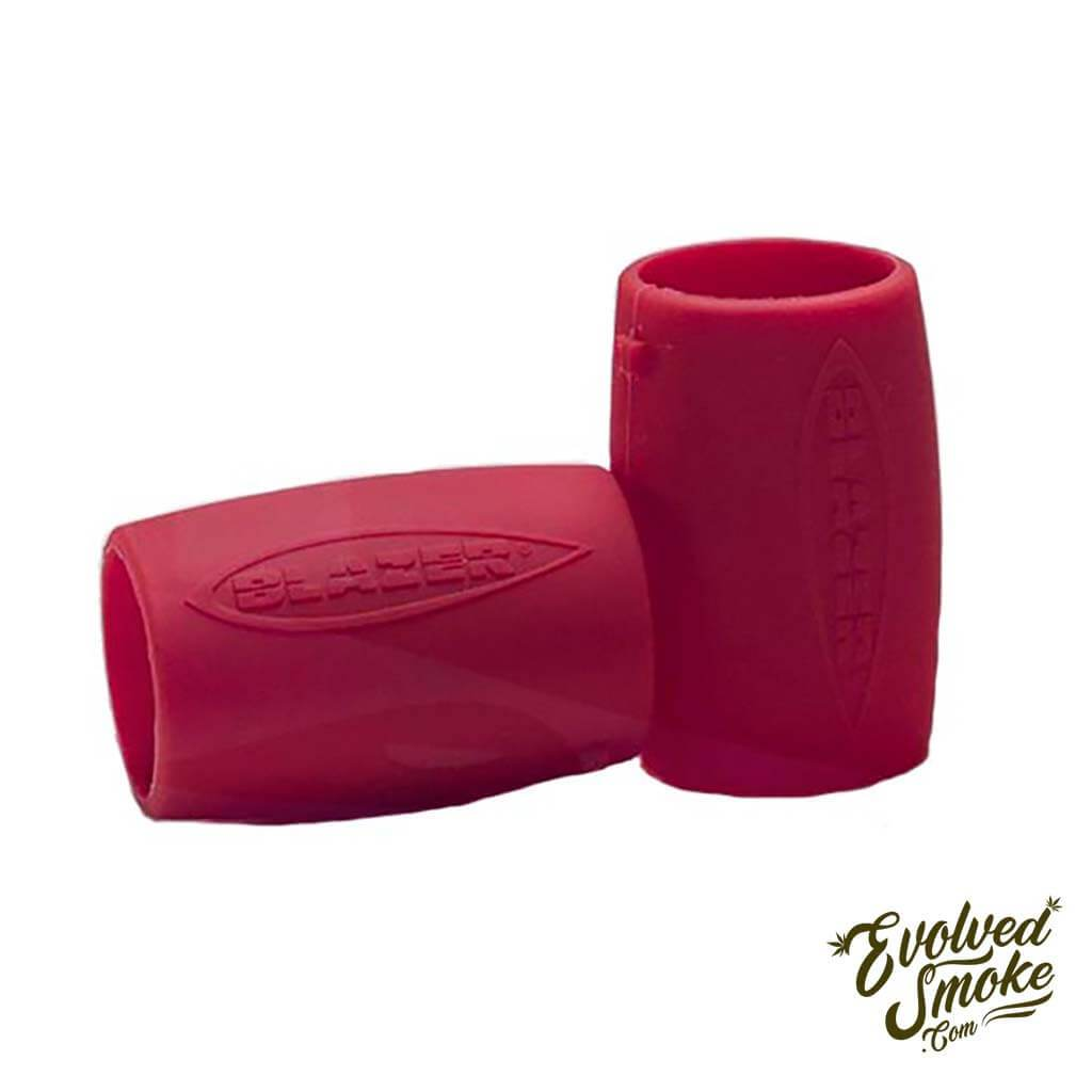 Blazer Big Shot Nozzle Guard 2 Pack - Red | EvolvedSmoke.com | Shop Vaporizers, Bongs, Glassware & Accessories