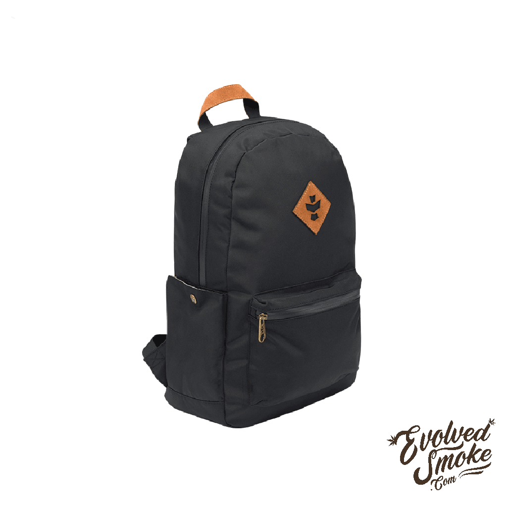 The Escort Backpack | Revelry Supply | Black | 18L | EvolvedSmoke.com | Accessories
