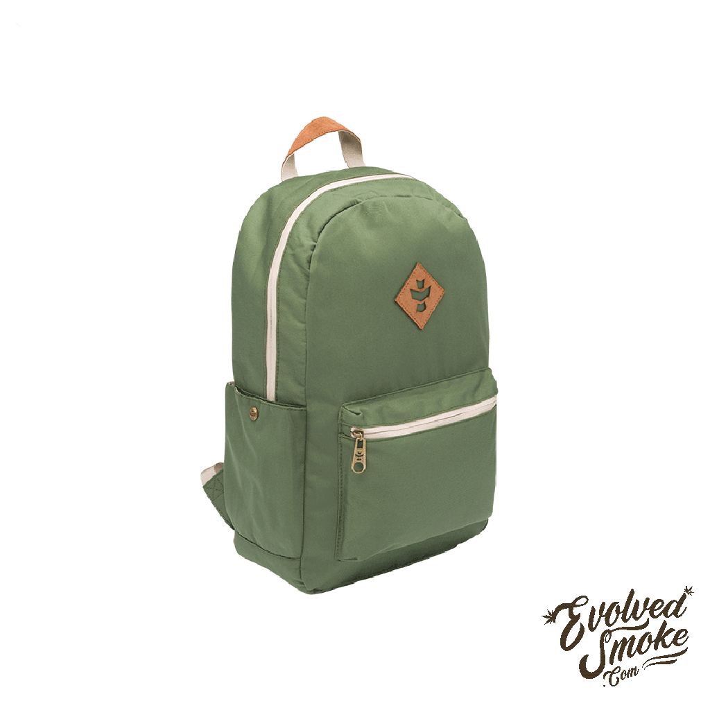 The Escort Backpack | Revelry Supply | Green | 18L | EvolvedSmoke.com
