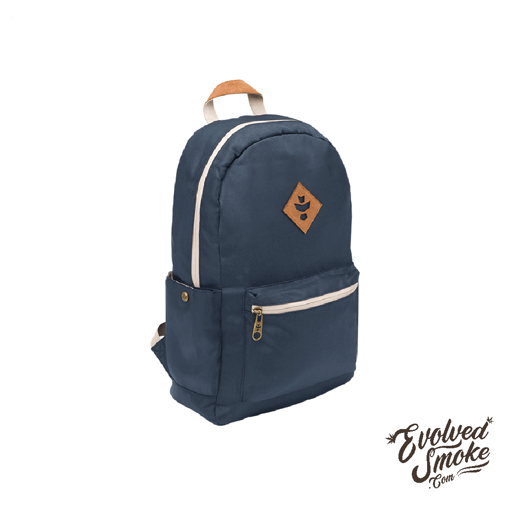 The Escort Backpack | Revelry Supply | Navy Blue | 18L | EvolvedSmoke.com