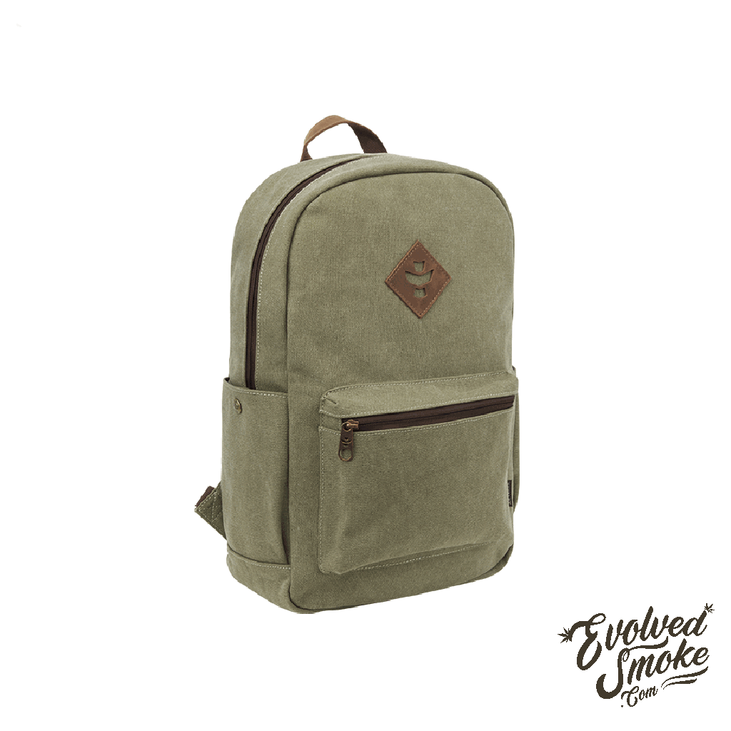 The Escort Backpack | Revelry Supply | Sage | 18L | EvolvedSmoke.com