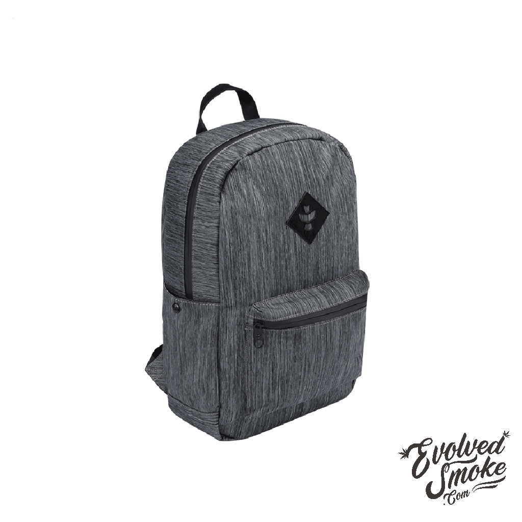 The Escort Backpack | Revelry Supply | Striped Dark Grey  | 18L | EvolvedSmoke.com