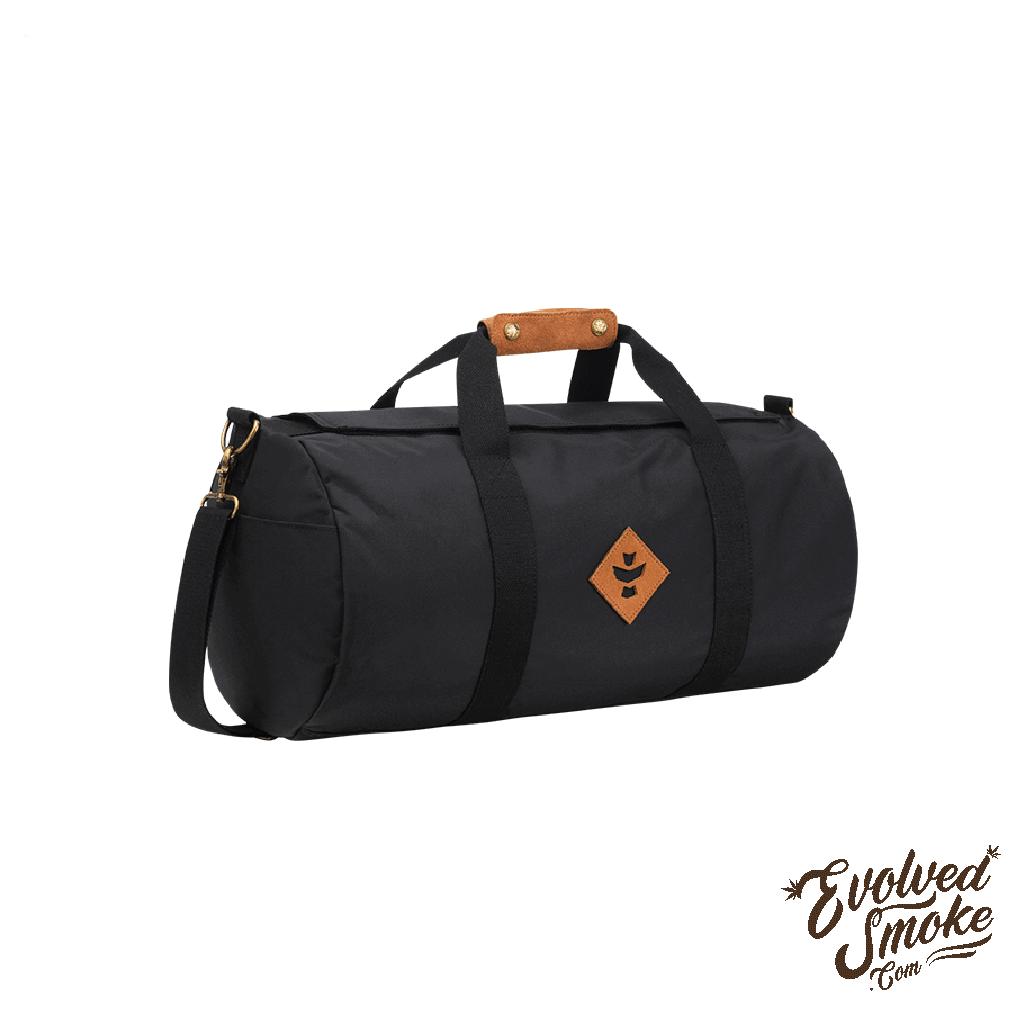The Overnighter-Small Duffle-28L-Black-EvolvedSmoke.com