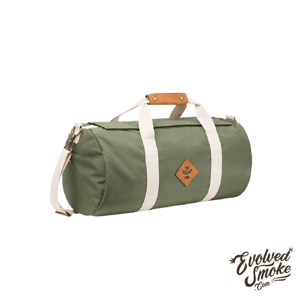The Overnighter-Small Duffle-28L-Revelry Supply-Green-EvolvedSmoke.com