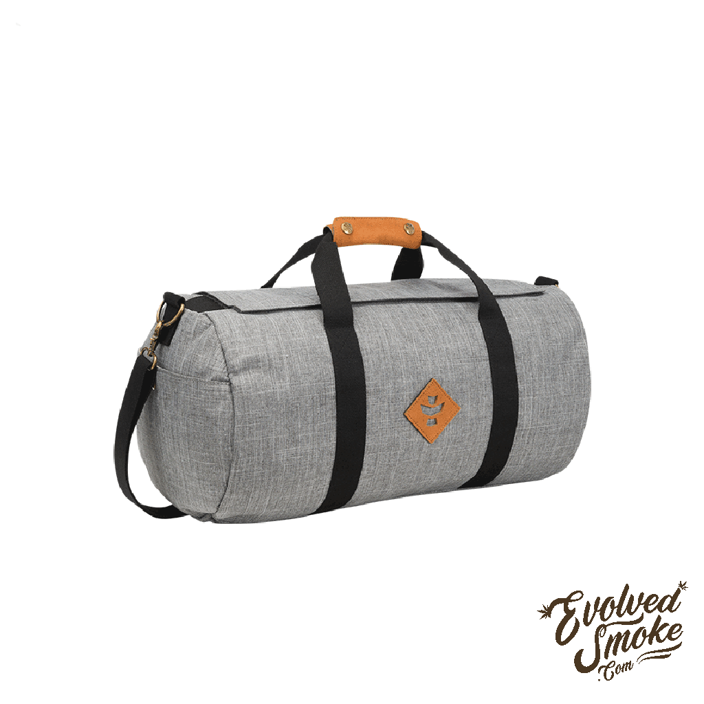 The Overnighter-Small Duffle-28L-Revelry Supply-Grey-EvolvedSmoke.com