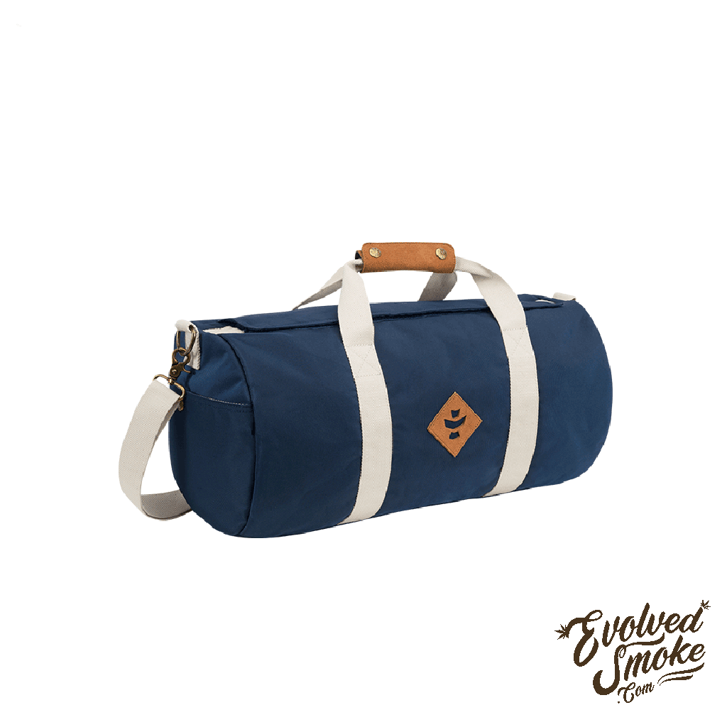 The Overnighter-Small Duffle-28L-Revelry Supply-Naby-Blue-EvolvedSmoke.com