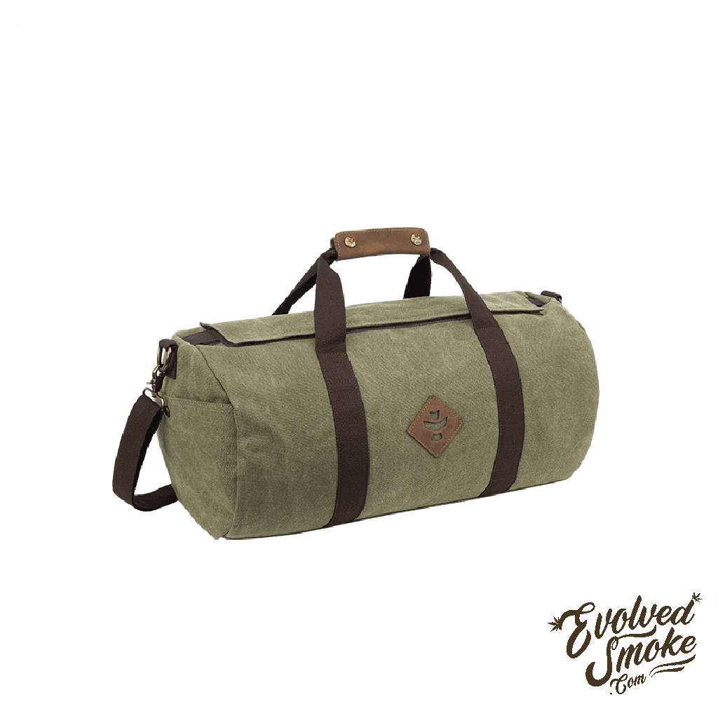 The Overnighter-Small Duffle-28L-Revelry Supply-Sage-EvolvedSmoke.com