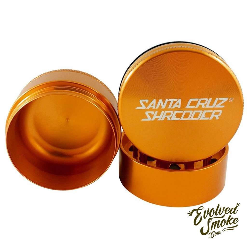 Santa Cruz Shredder 3-Piece Grinder - Grinder - EvolvedSmoke