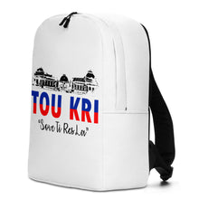 Load image into Gallery viewer, White Tou Kri Backpack