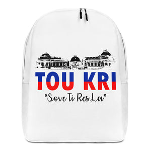 White Tou Kri Backpack