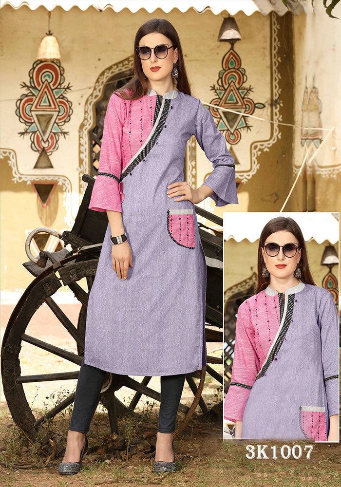 LATEST STYLESH HEAVY COTTON KURTI