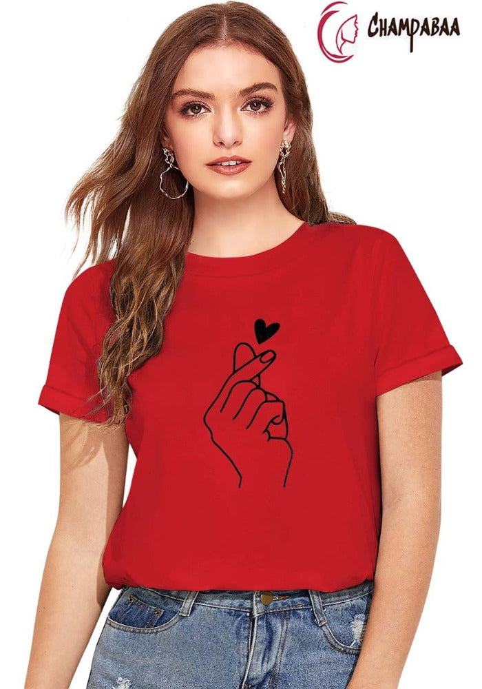 Women Red Top