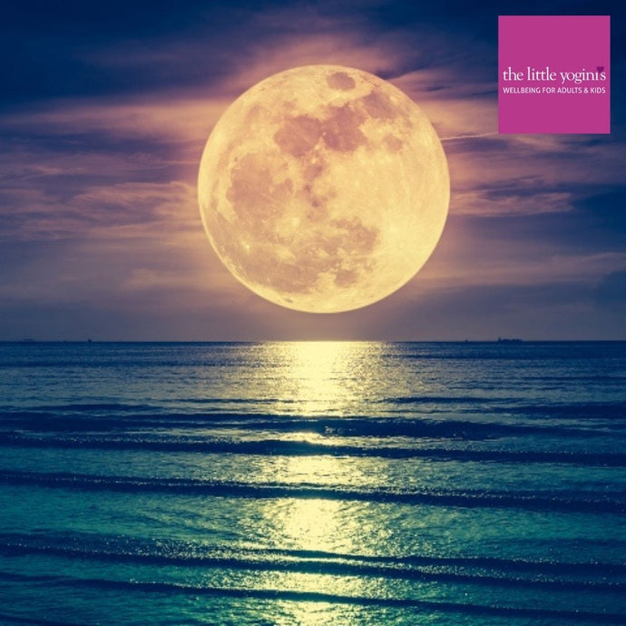 Full Moon Bathing - going with the flow and giving yourself a little pamper!