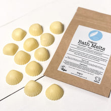 Load image into Gallery viewer, organic bath melts vegan natural ingredients