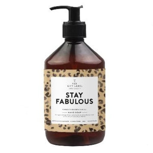 Stay Fabulous Gift Label Handwash