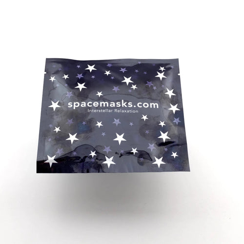 Spacemasks single packets relaxation gift for mum