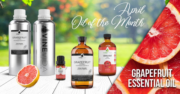 April's Oil of the Month: Grapefruit Essential Oil