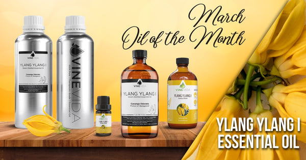 March's Oil of the Month: Ylang Ylang Essential Oil