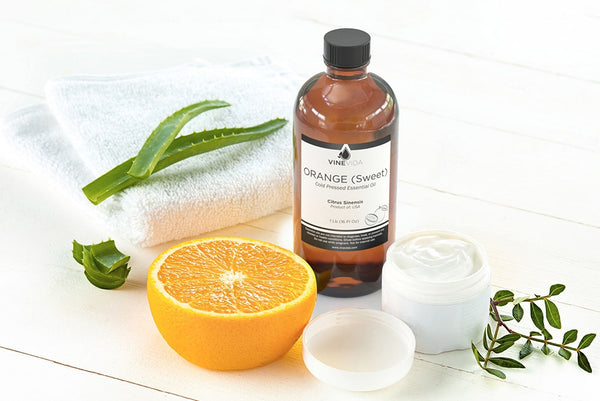 What is Sweet Orange Essential Oil Good for