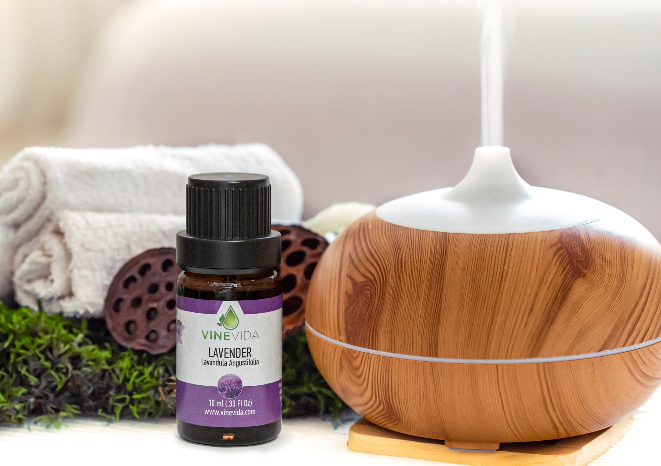 Essential Oils in Humidifier