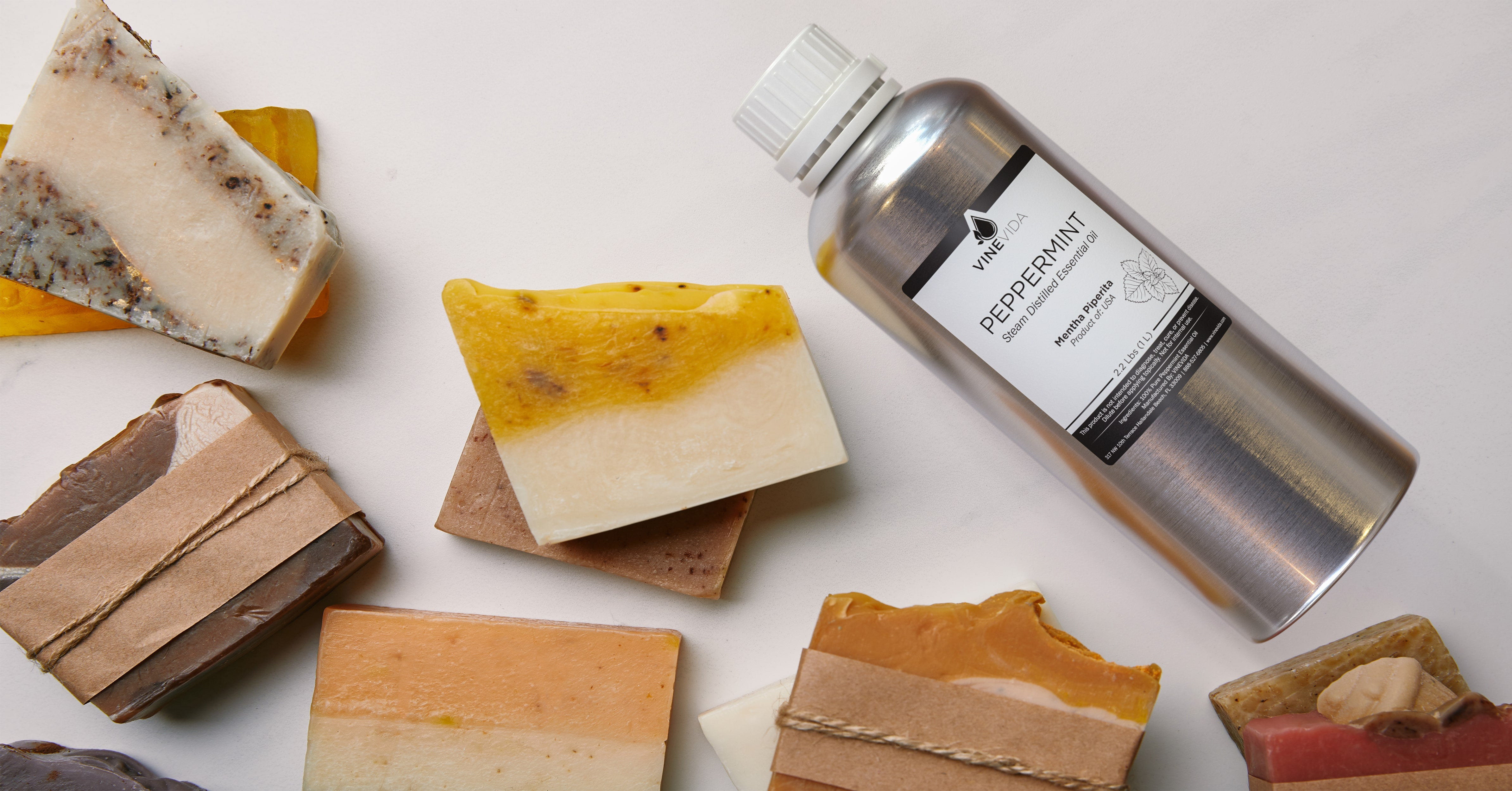 Peppermint Essential Oil Soapmaking