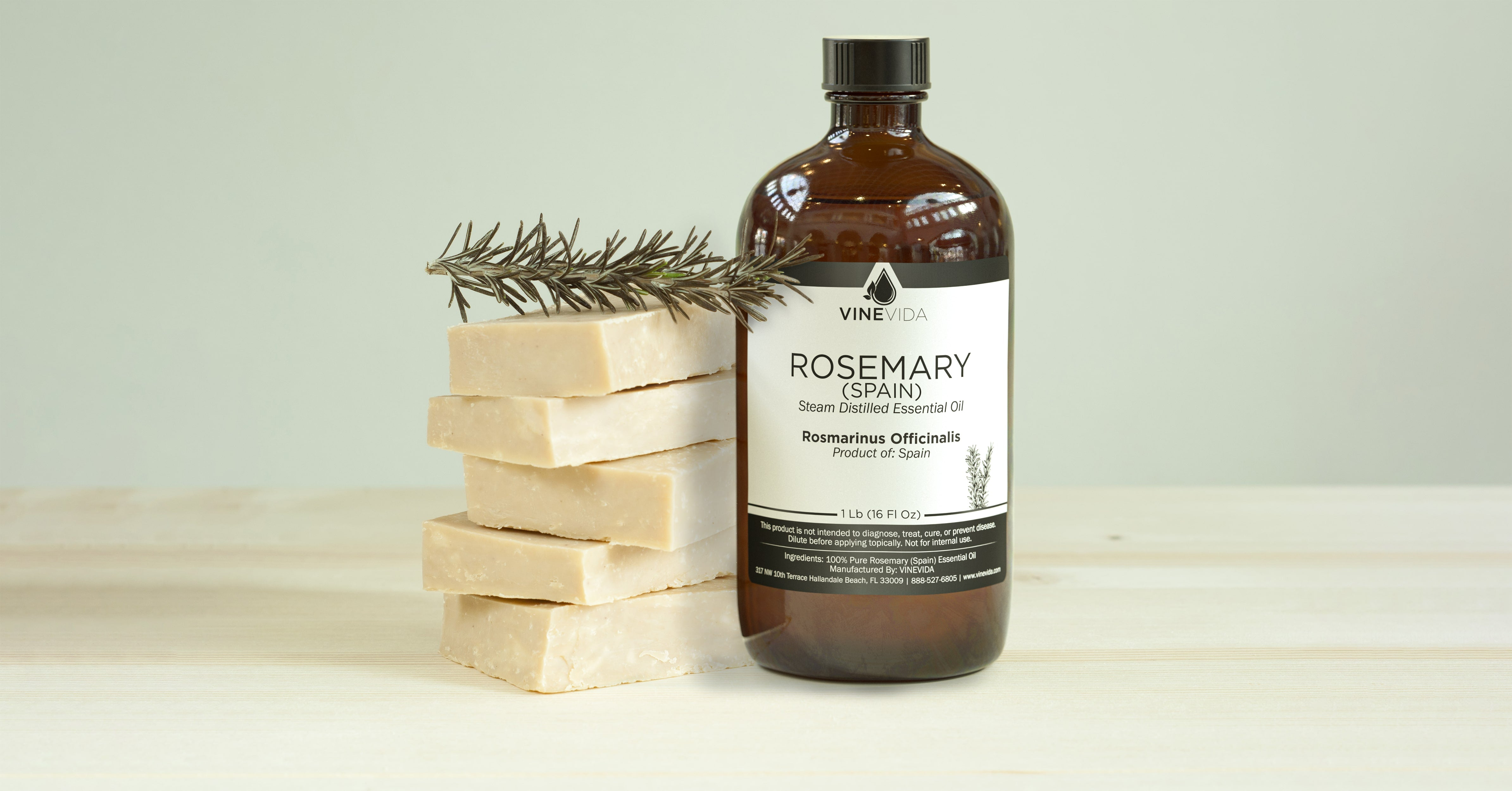 Spanish Rosemary Essential Oil Soapmaking