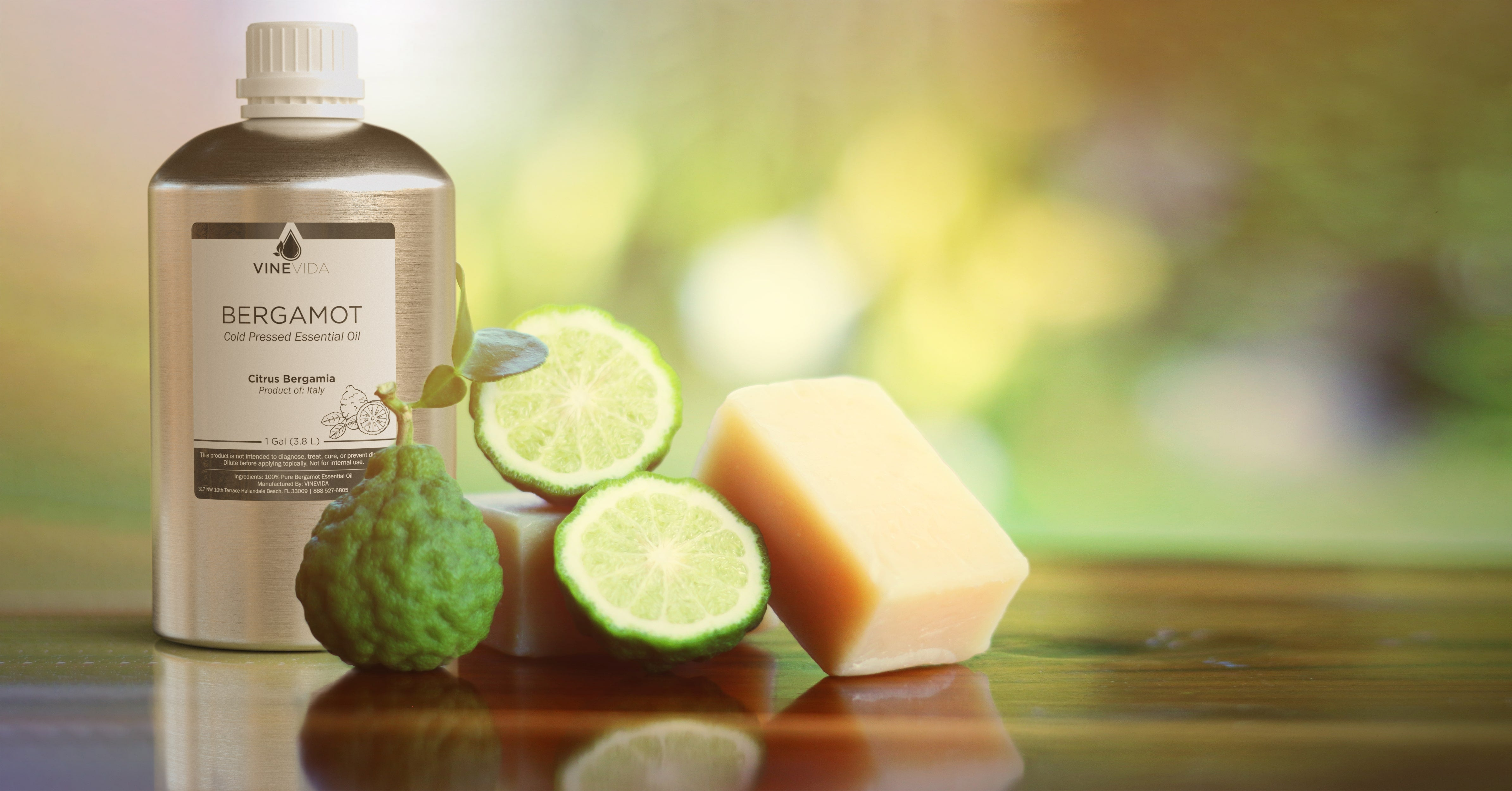 bergamot essential oil soapmaking