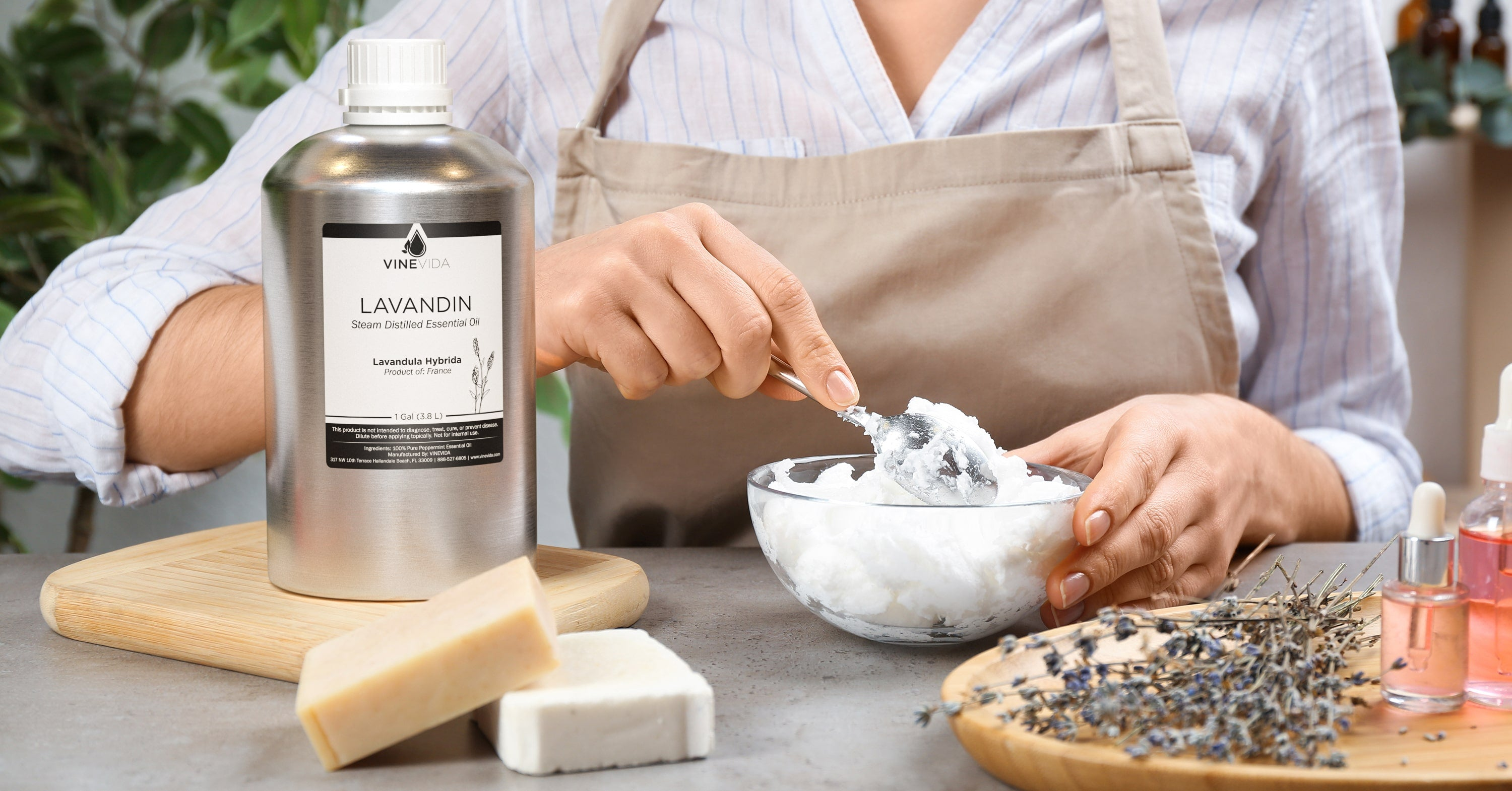 lavandin essential oil soapmaking