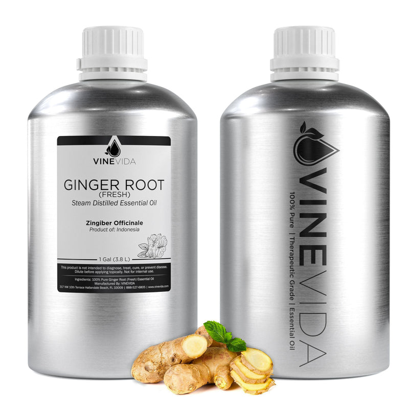 Ginger Root Essential Oil (Fresh)