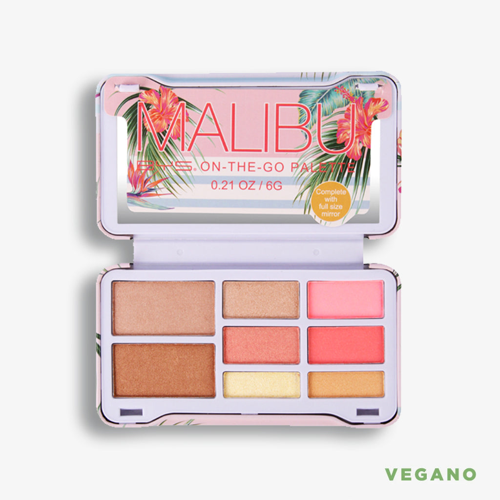 Malibu -On the go- Paleta para rostro