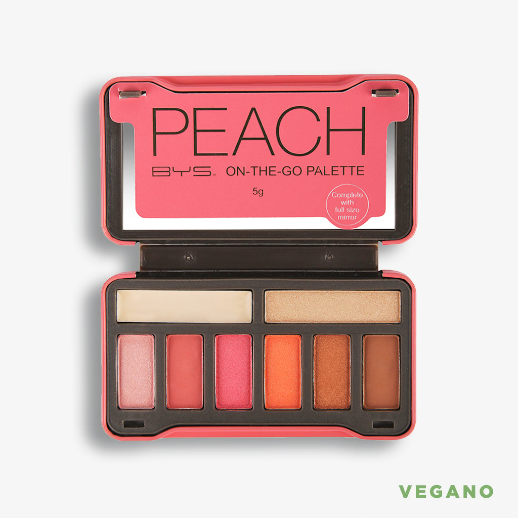 Paleta de sombras -On the go- Peach