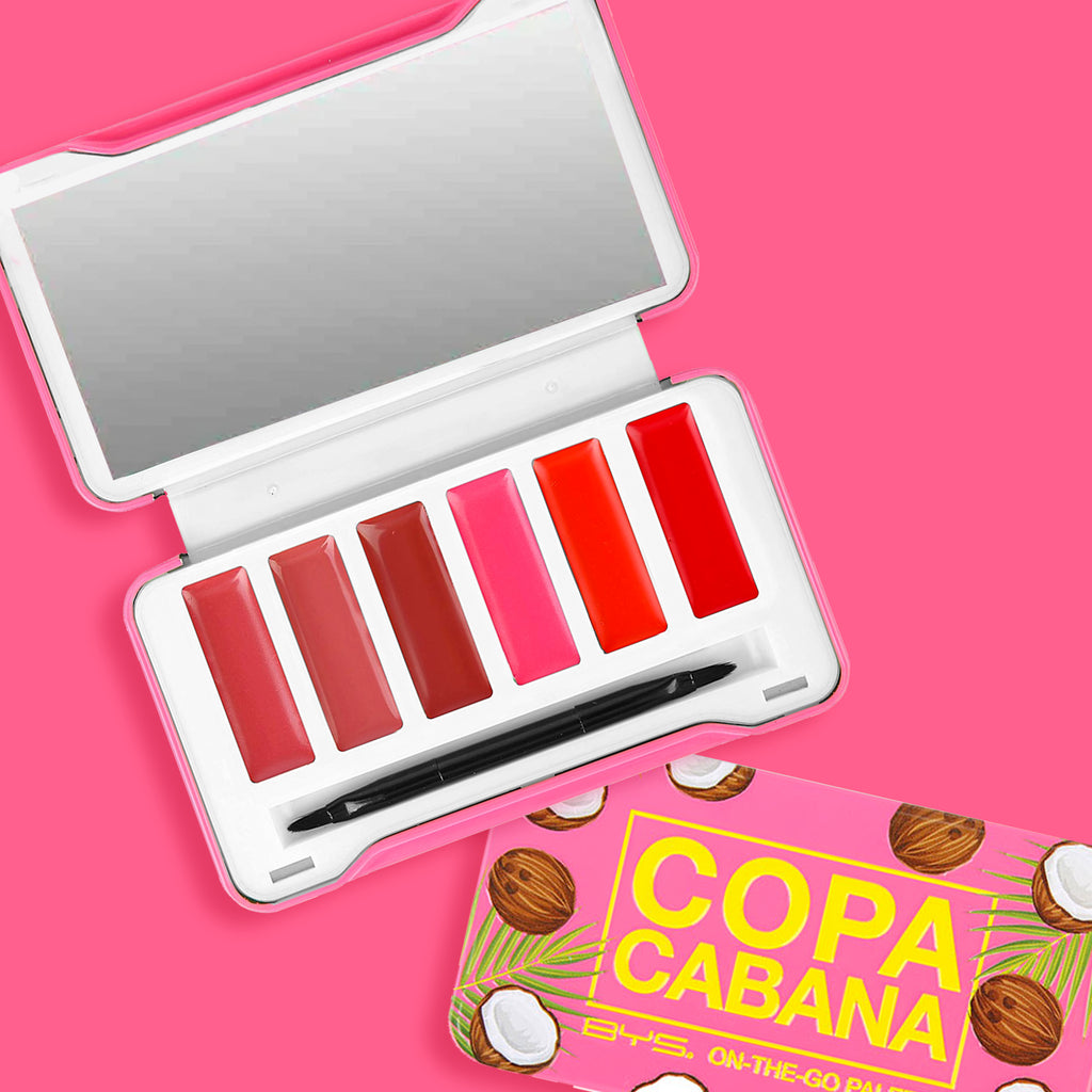 Copacabana - On The Go- Paleta de Labiales en Crema