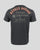 Rokker Garage T-Shirt Men Anthracite