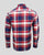 Kingston Shirt Men Red/Blue/White