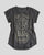 Calavera Lady T-Shirt Dark Grey