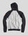 Racing Association Hoodie Black/Light Grey